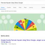 Pemutar Kejutan Ulang Tahun Google