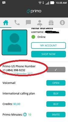 Cara Membuat Nomor Telepon Luar negeri