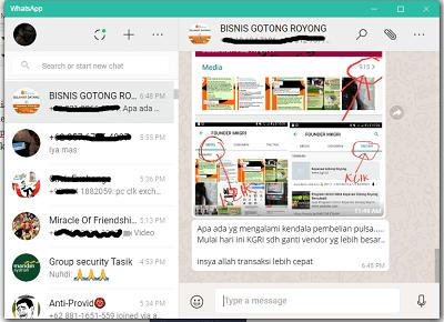 Cara Menggunakan Whatsapp di Komputer