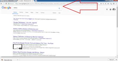 trik google search askew