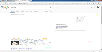trik google search zerg rush
