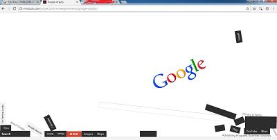 trik google gravity