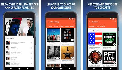 Aplikasi Android Keren - Google Play Music