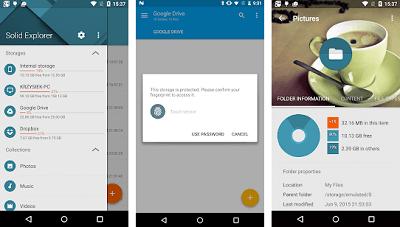 Aplikasi Android Keren - solid eksplorer