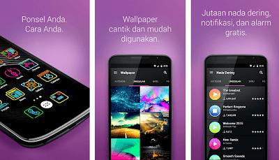 Aplikasi Android Keren - zedge