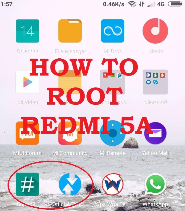 Instal TWRP Recovery dan ROOT Xiaomi RedmiInstal TWRP Recovery dan ROOT Xiaomi Redmi